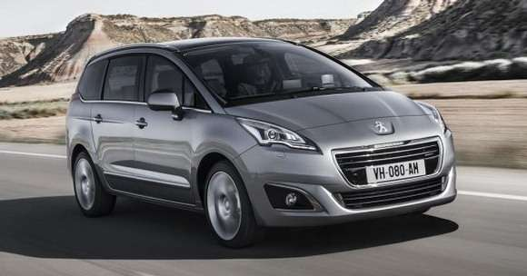 Peugeot 5008 Facelifting