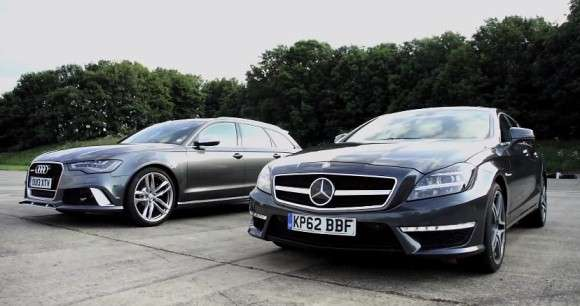 Audi RS6 vs Mercedes CLS 63 AMG