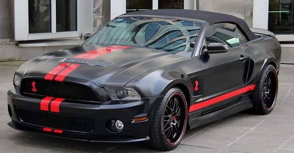 Ford Mustang Shelby GT500 tuning