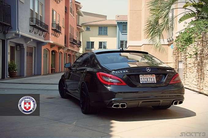 Mercedes CLS 63 AMG HRE Wheels