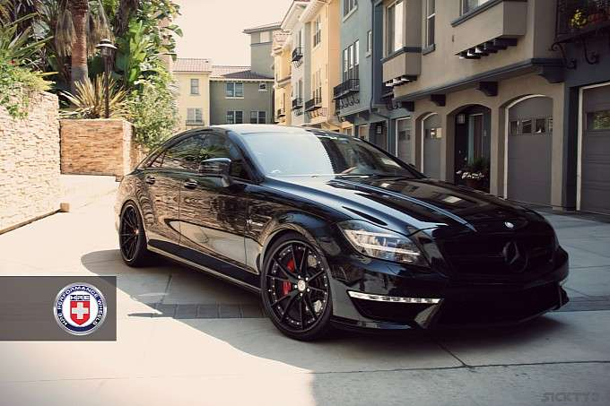 Mercedes CLS 63 AMG HRE Wheels