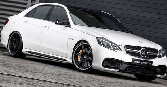 Mercedes E63 AMG tuning