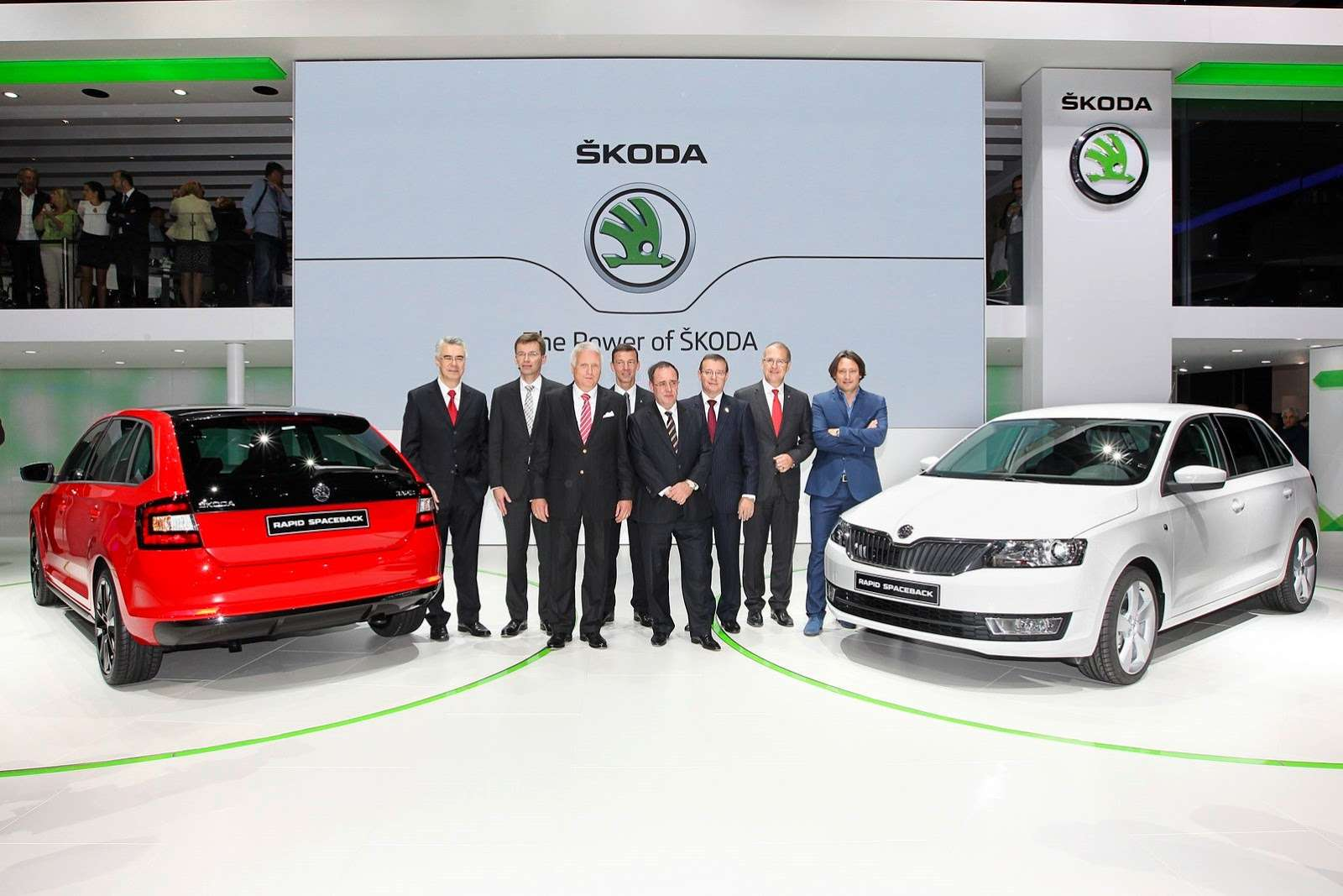 Skoda Rapid Spaceback Frankfurt motor show
