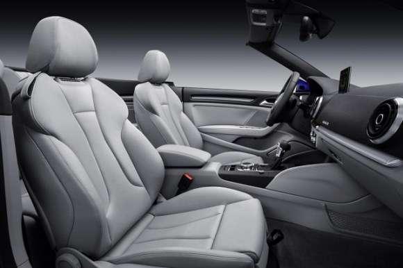 Nowe Audi A3 Cabrio interior wnętrze