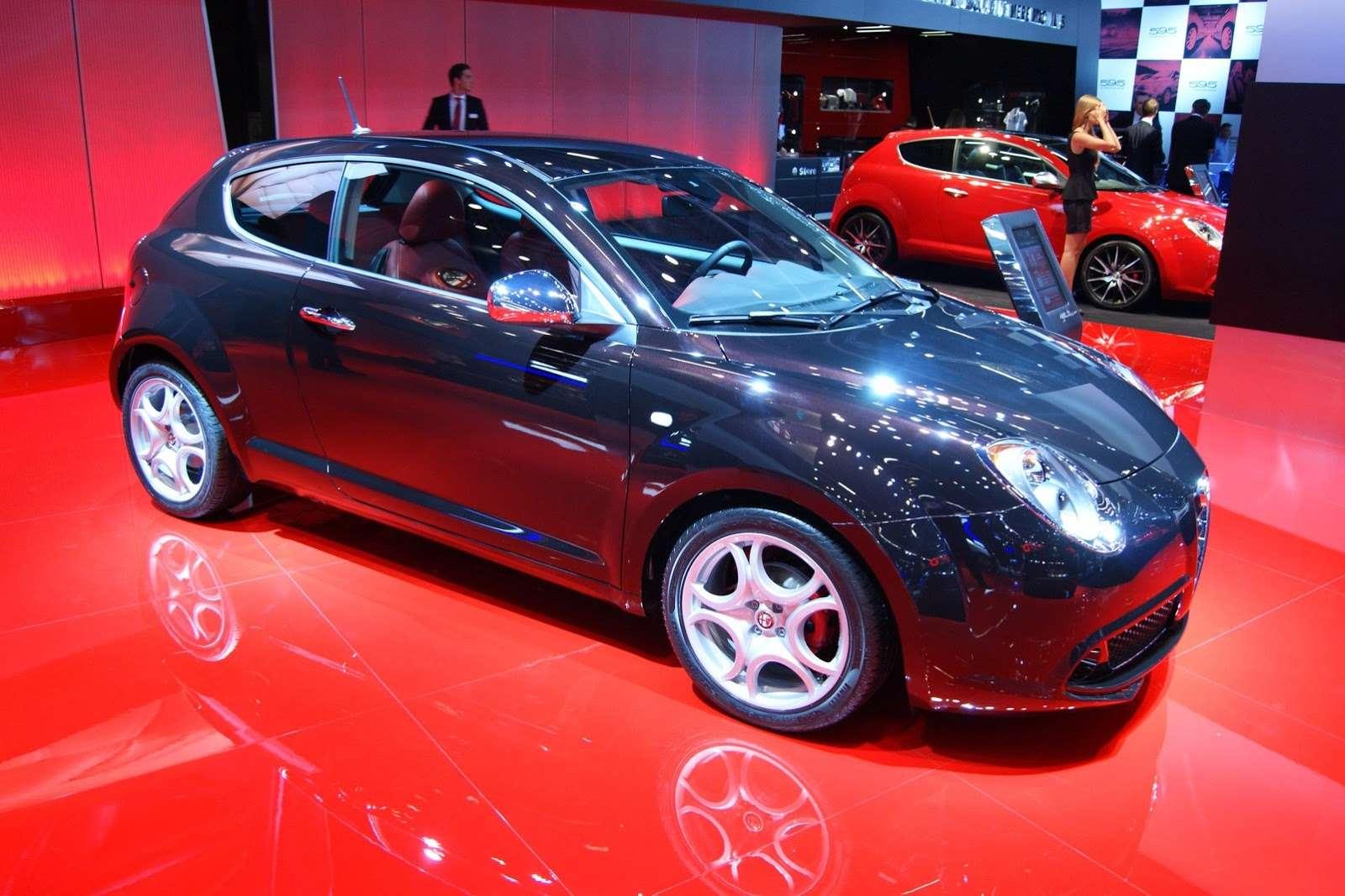 Alfa Romeo MiTo facelift Frankfurt 2013