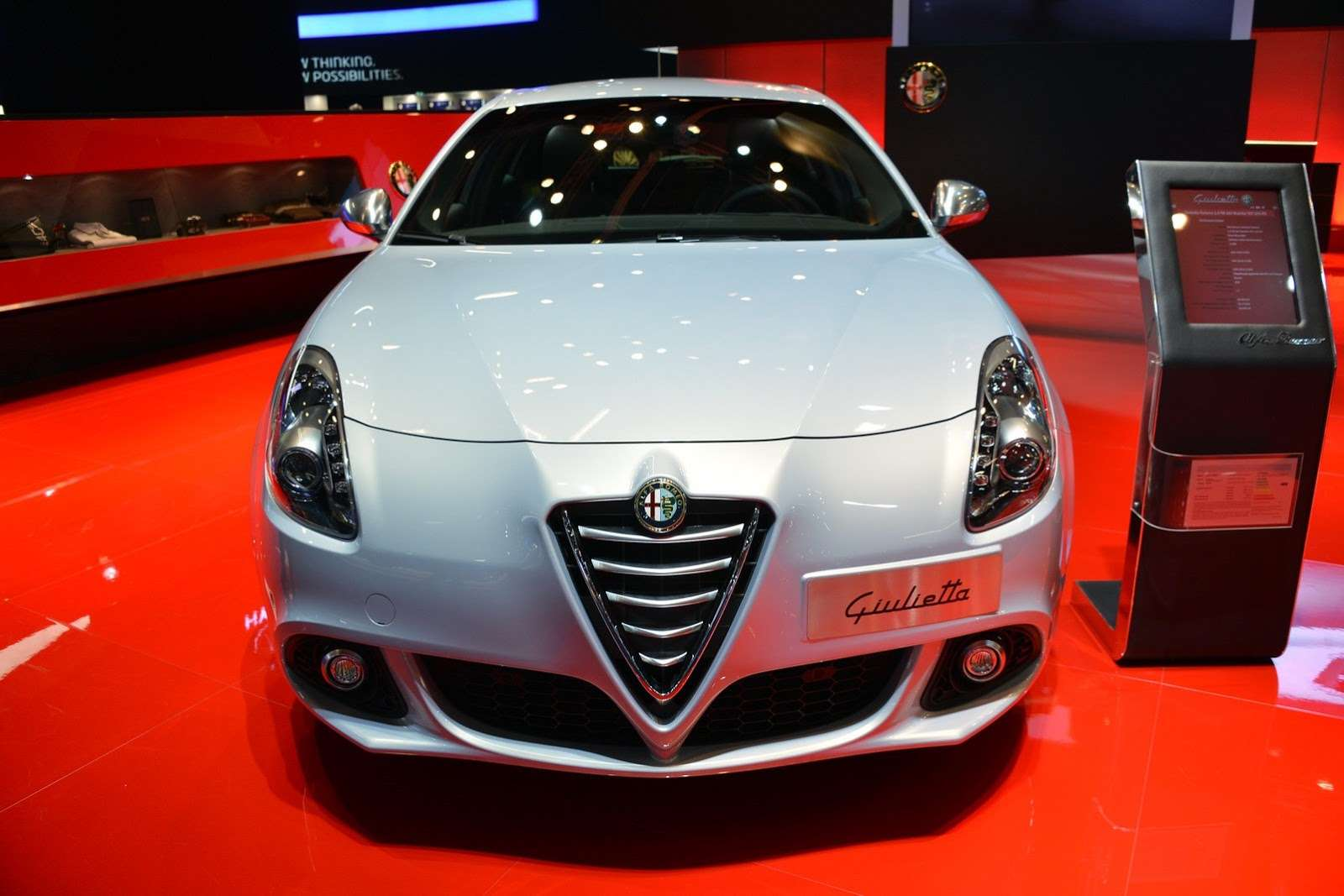 Alfa Romeo Giulietta facelift Frankfurt 2013