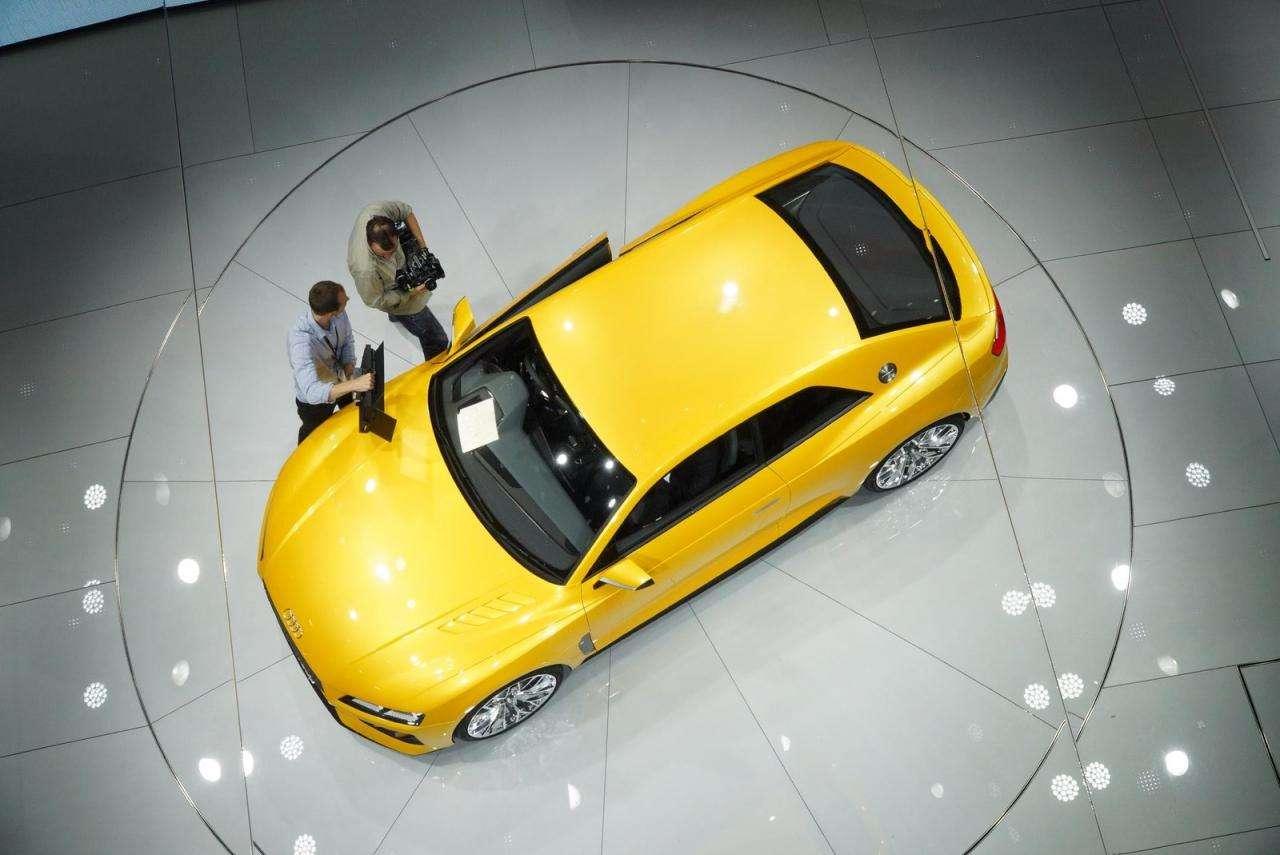 Audi Sport Quattro Concept Frankfurt