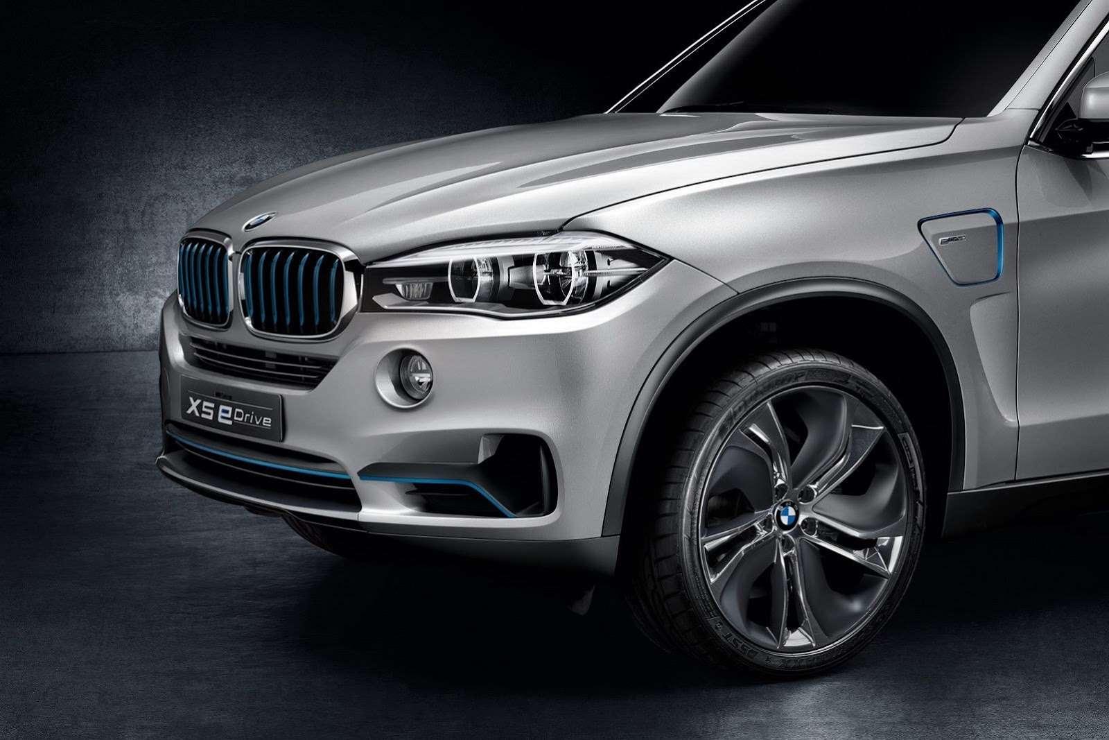 BMW X5 eDrive Concept Frankfurt 2013