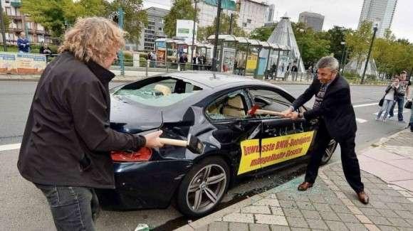BMW M6 2008 zniszczone