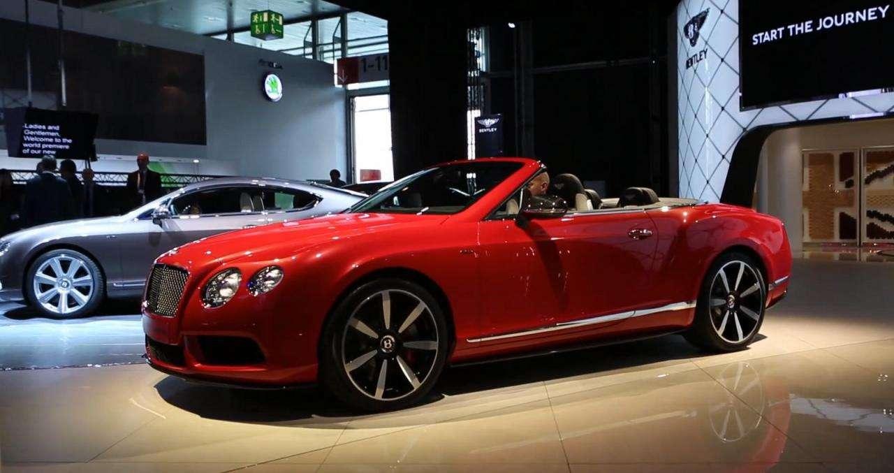 Bentley Continental GT V8 S live