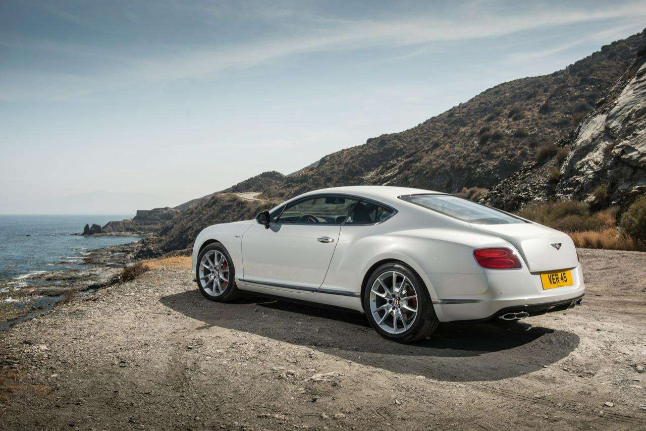 Bentley Continental GT V8 S live