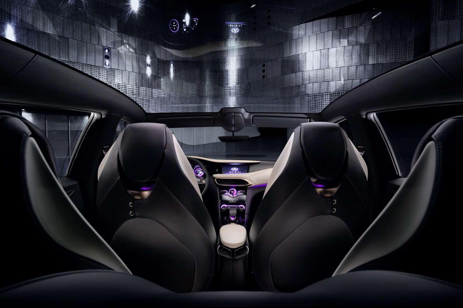 Infiniti Q30 Concept live Frankfurt motor show