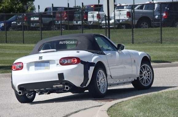 Mazda MX-5 2014 szpiegowskie