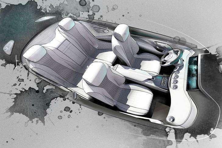 Mercedes klasy S Coupe Concept teaser