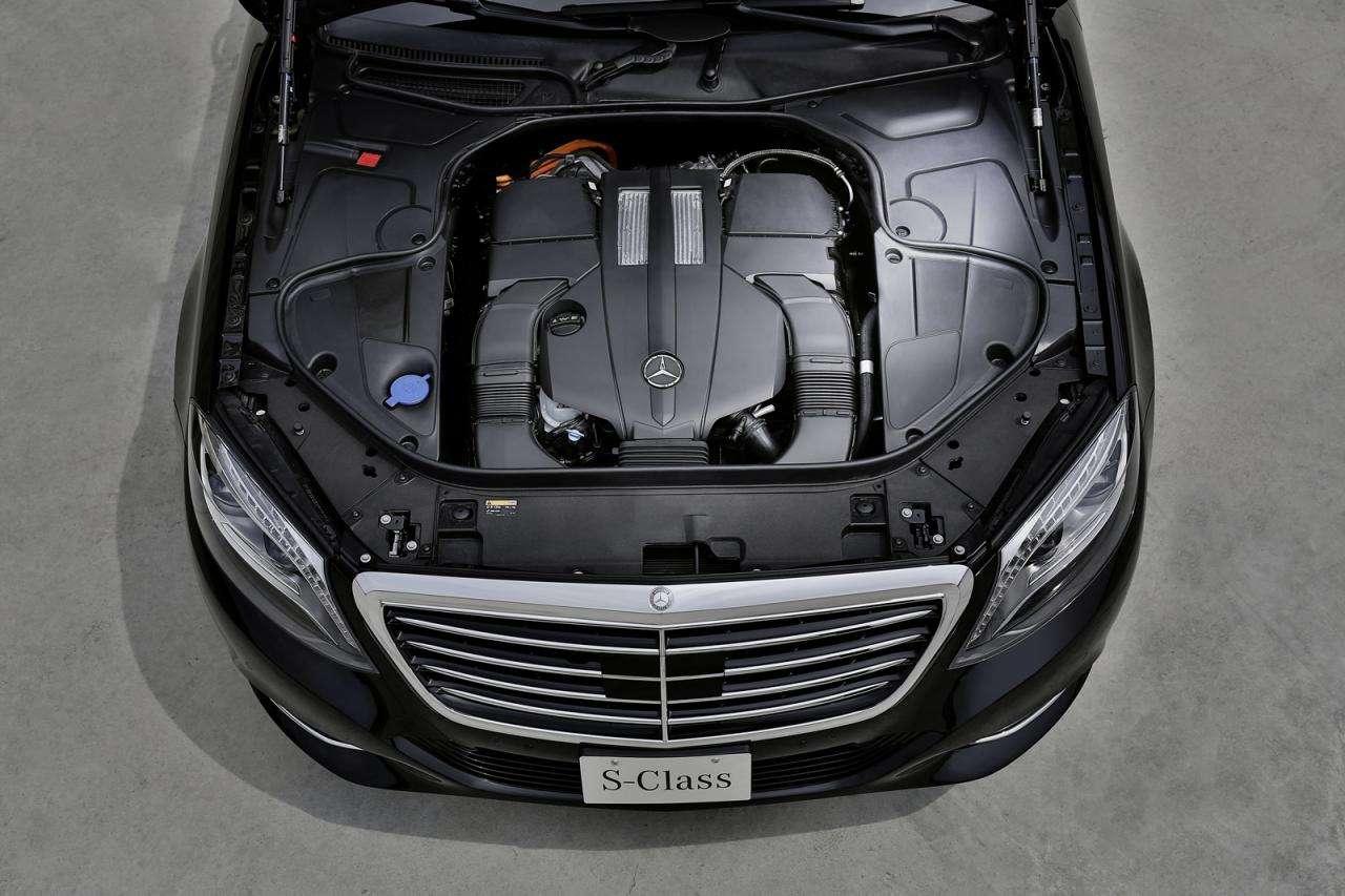 Mercedes S500 Plug-In Hybrid 2014 Frankfurt