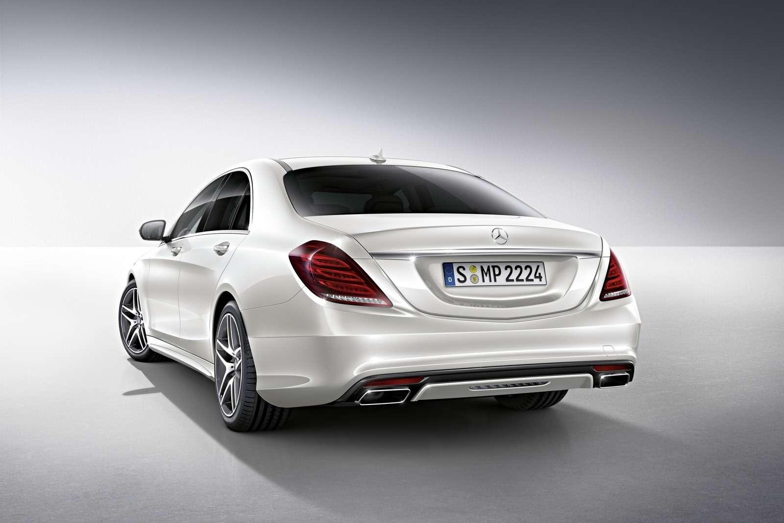 Mercedes klasy S akcesoria