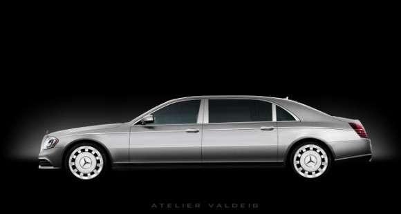 Mercedes klasy S Pullman