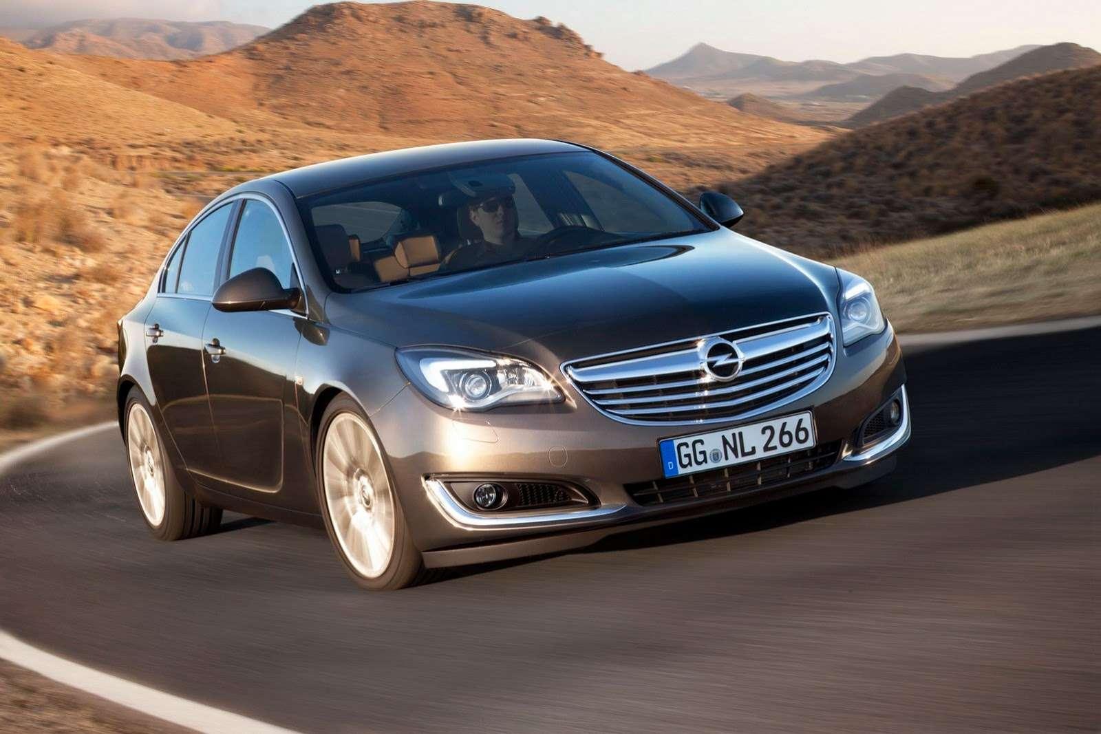 Opel Insignia facelift Frankfurt motor show