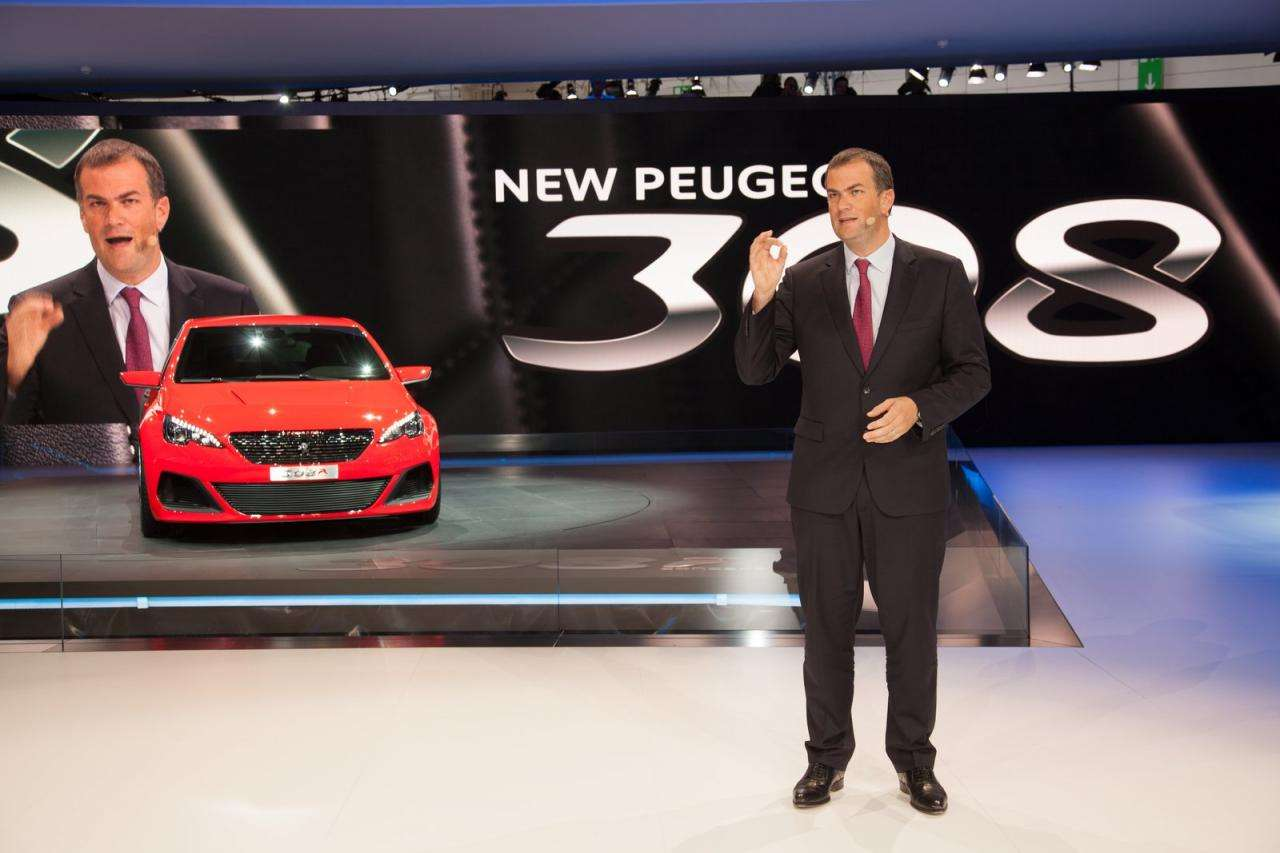 Peugeot 308 R concept Frankfurt 2013