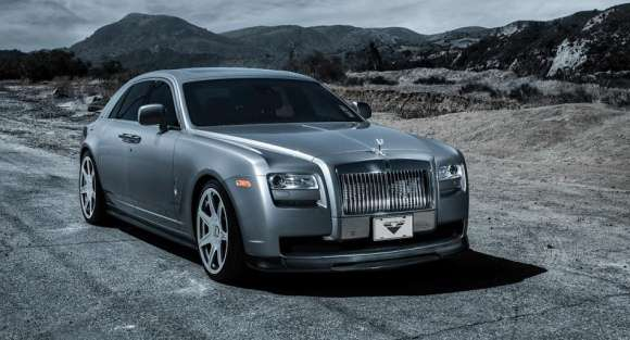 Rolls Royce Ghost tuning