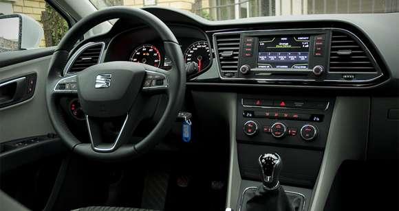 Seat Leon 1.4 TSI wnętrze