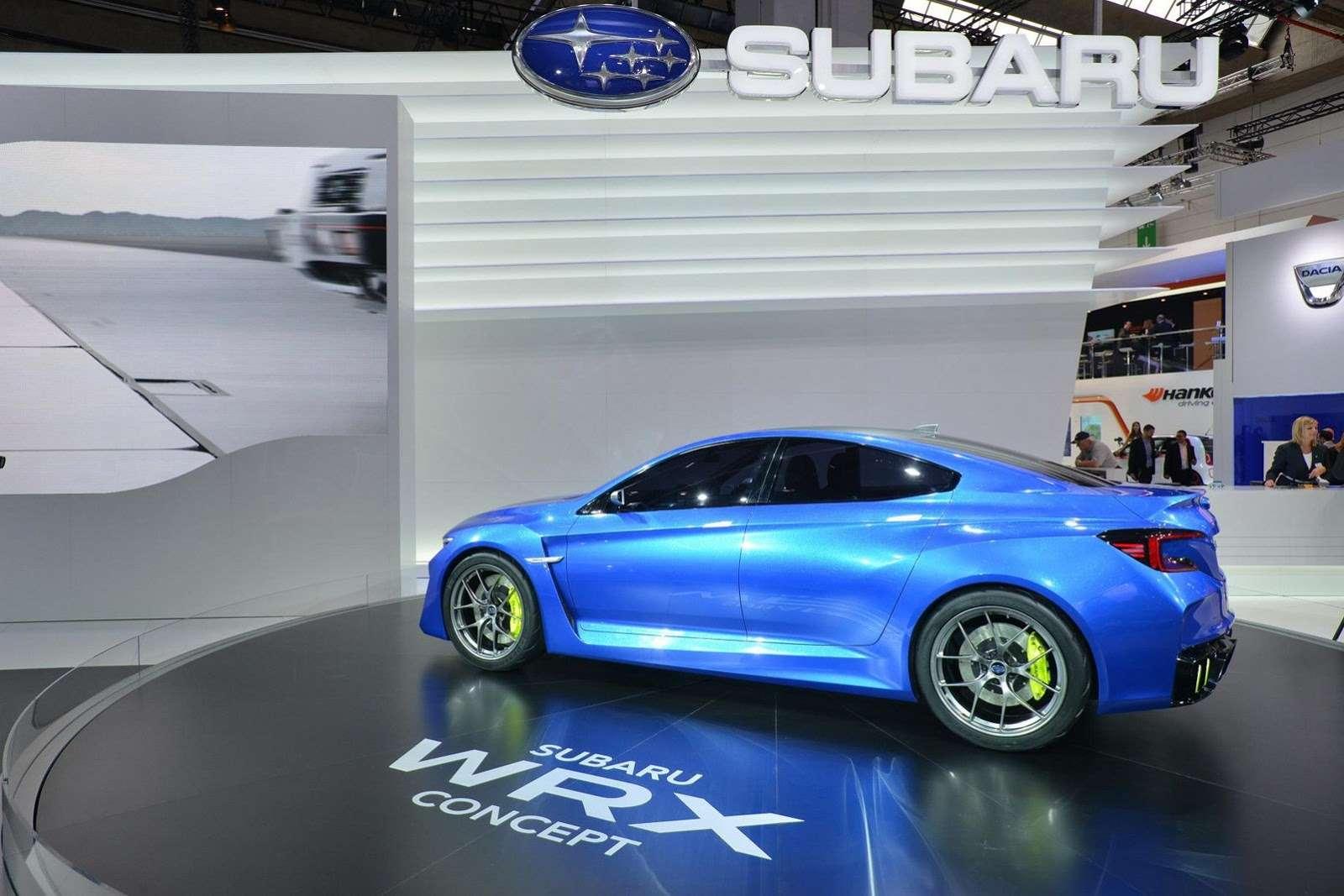 Subaru WRX Concept Frankfurt