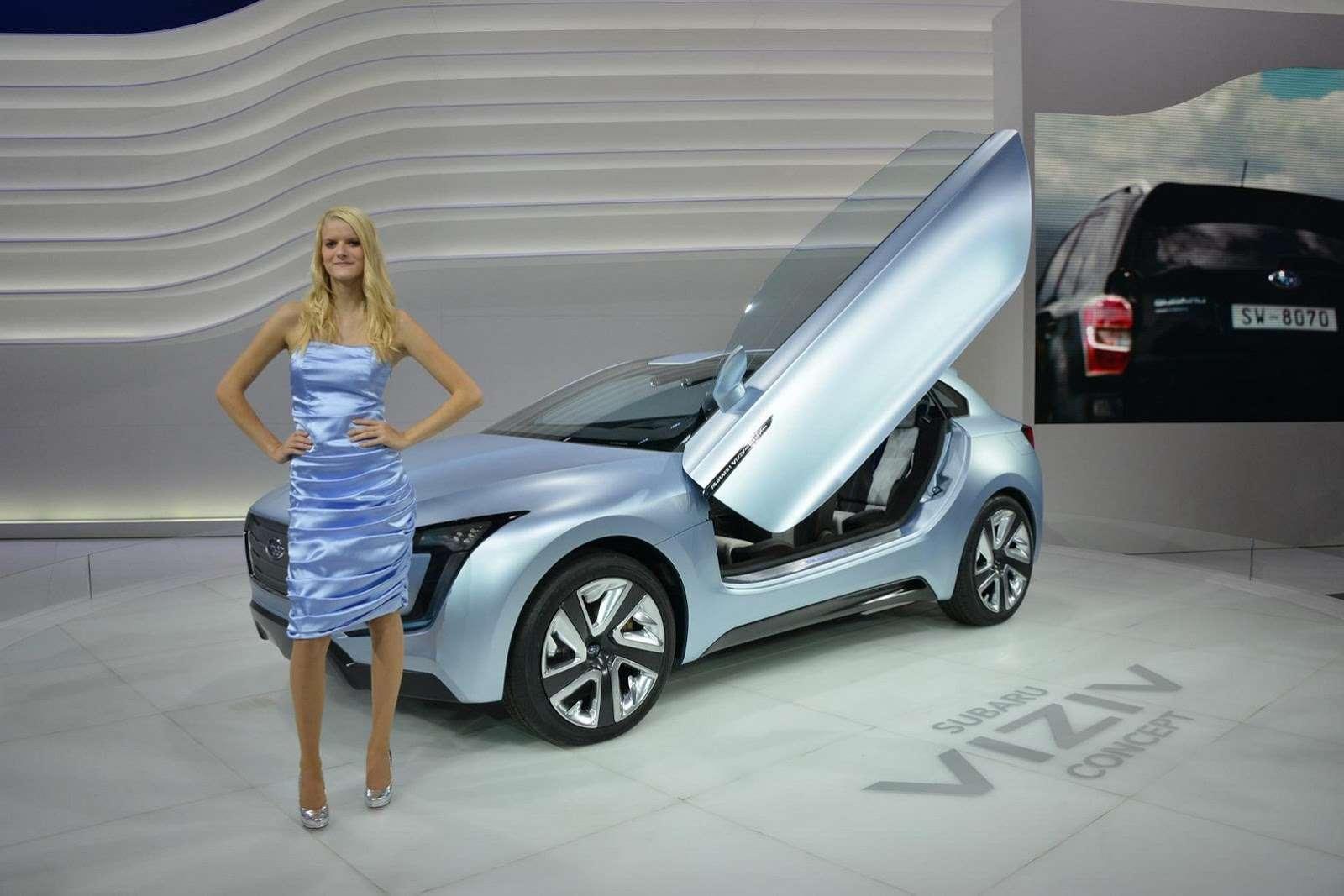 Subaru Viziv i WRX Concept Frankfurt