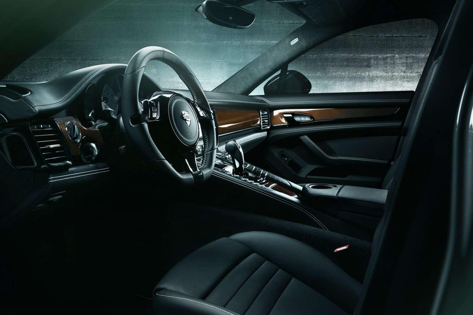 Porsche Panamera facelift TechArt tuning