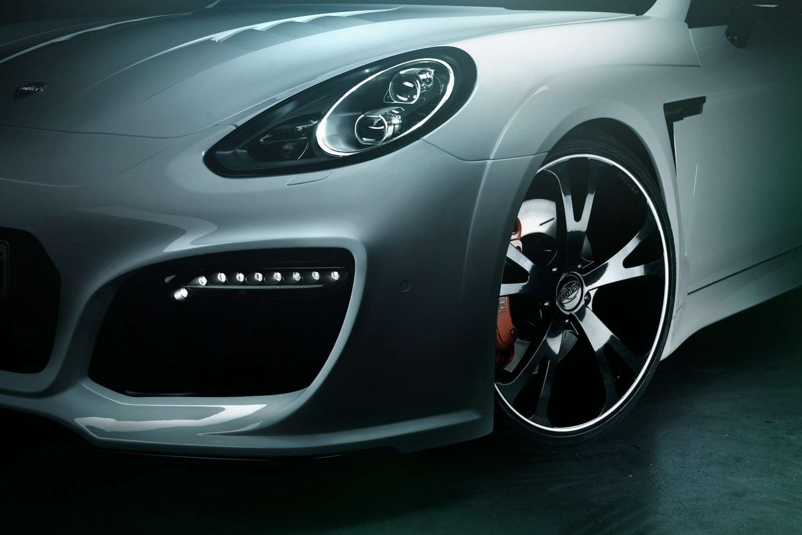 Porsche Panamera facelift TechArt tuning