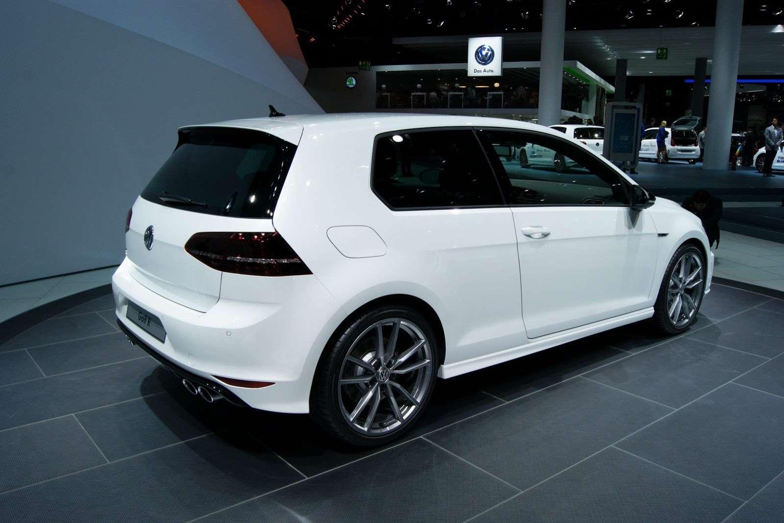 Volkswagen Golf R Frankfurt 2013