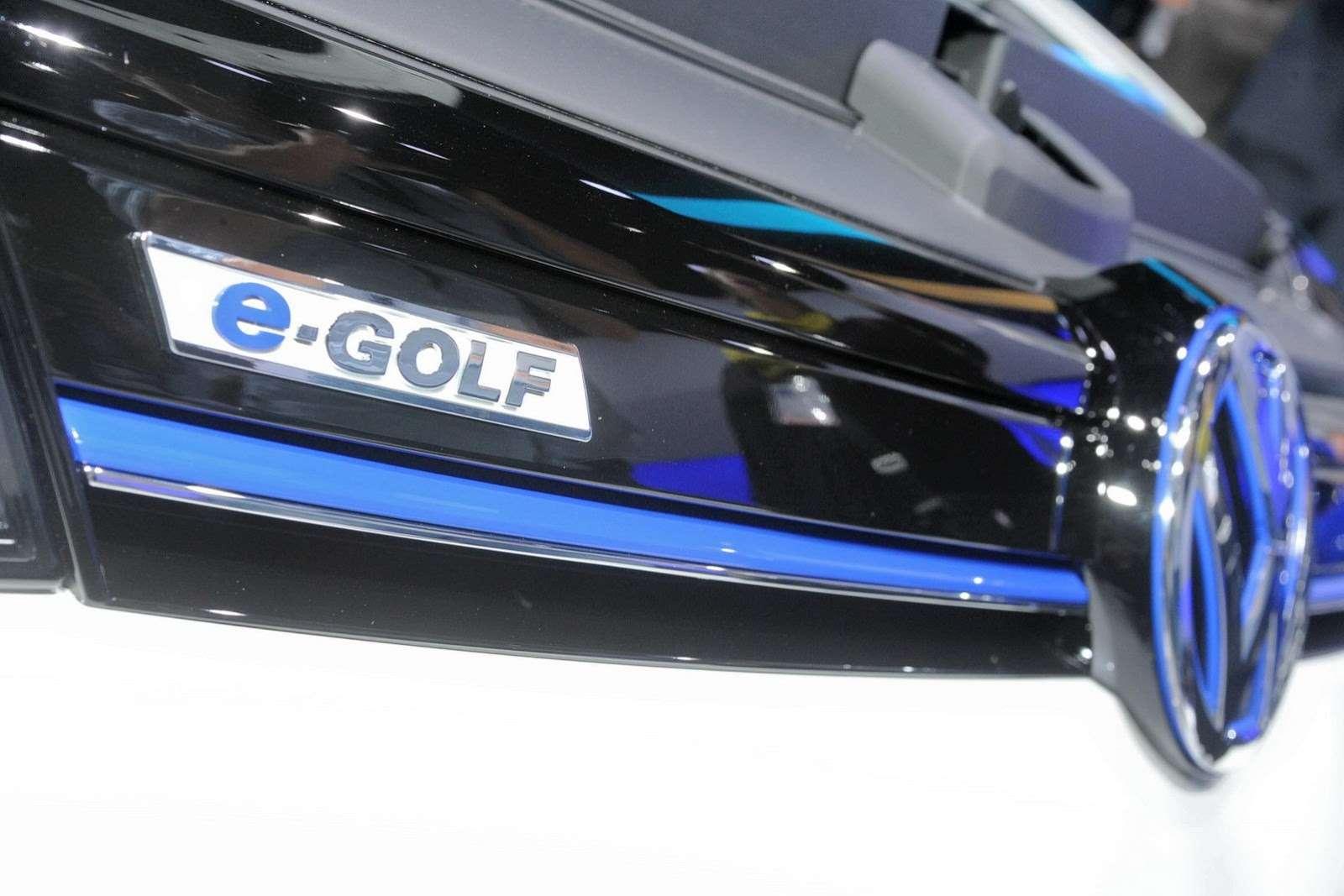 Volkswagen e-Golf 2014 Frankfurt
