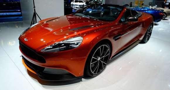 Aston Martin Vanquish Frankfurt 2013