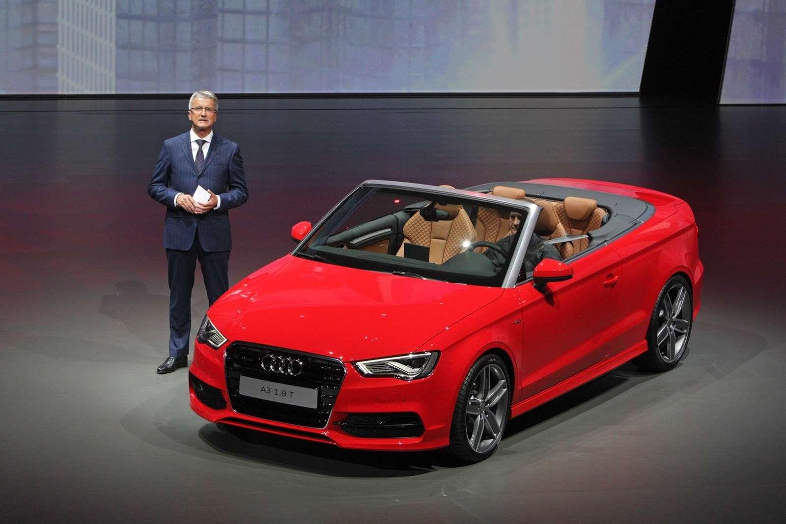 Audi A3 Cabrio 2014 live