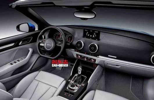 Audi A3 Cabrio 2014 zdjęcia