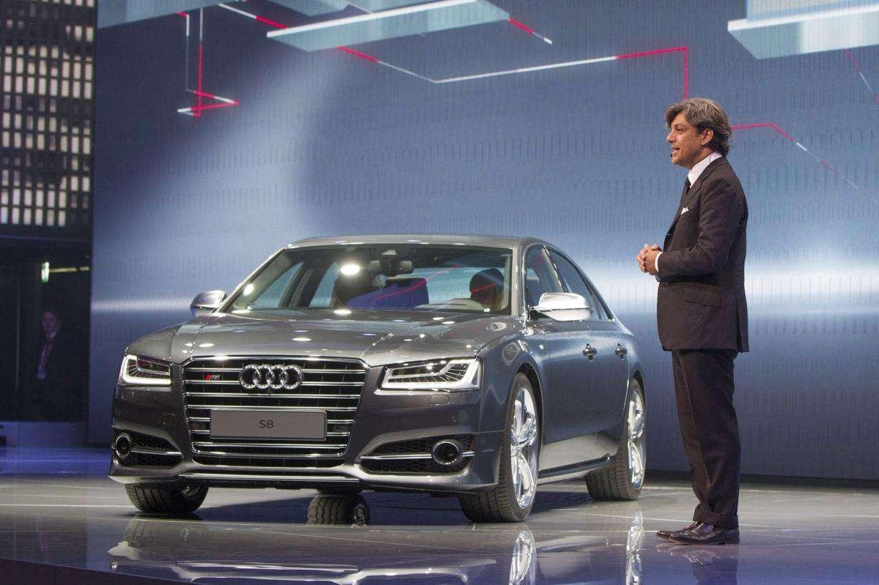 Audi S8 facelift Frankfurt 2013