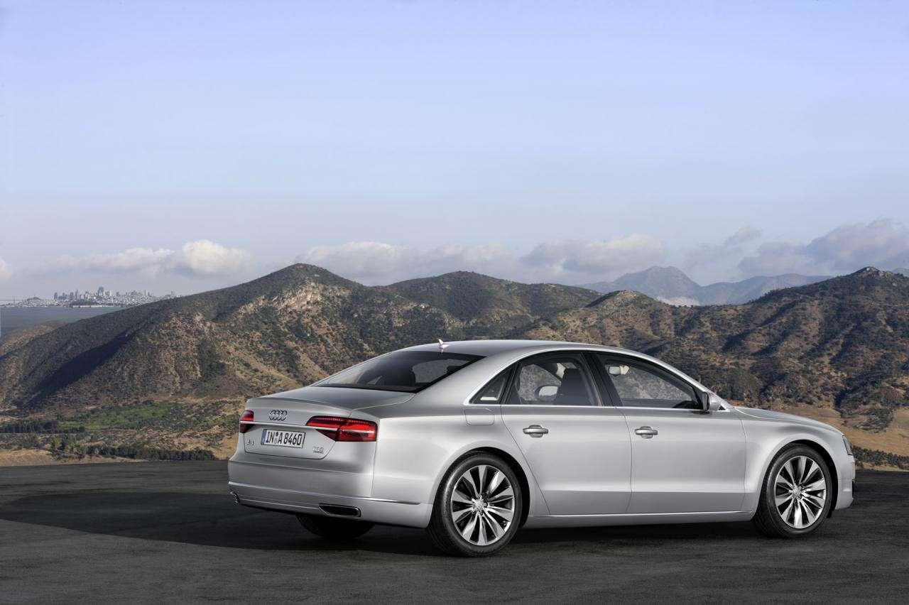 Audi A8 facelift Frankfurt 2013