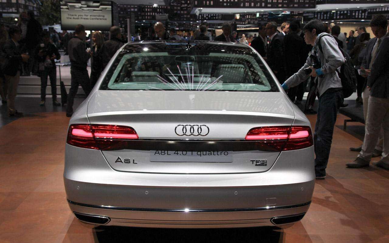 Audi A8 and S8 Facelift 2014 Live in Frankfurt 2013