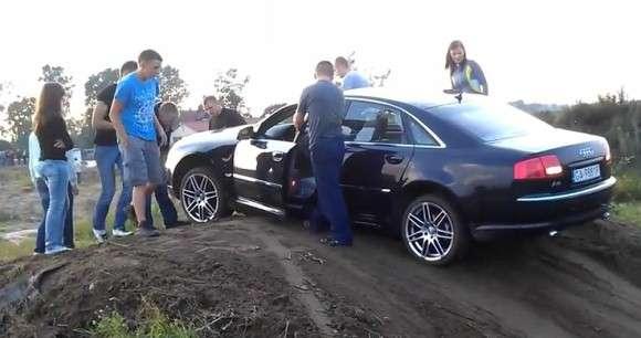 Audi A8 jako SUV