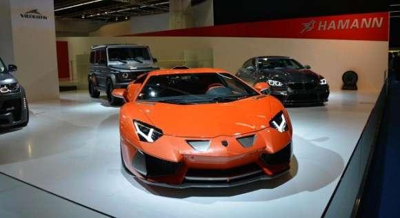 Lamborghini Aventador Hamman Nervudo