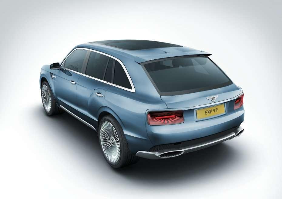 Bentley EXP 9 F oficjalnie