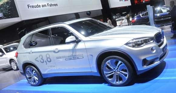 BMW X5 eDrive Hybrid Concept Frankfurt