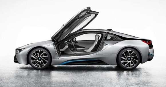 BMW i8 2014 seryjne