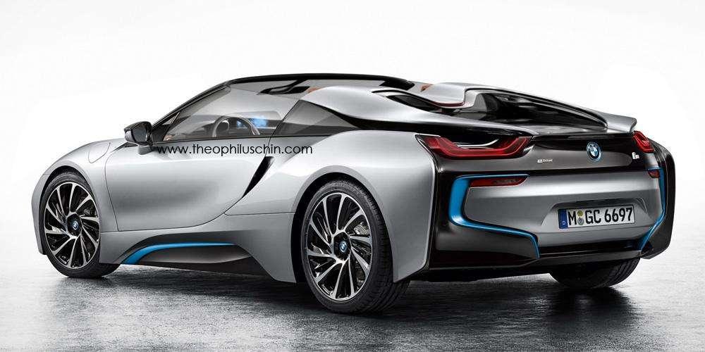 BMW i8 Spyder rendering