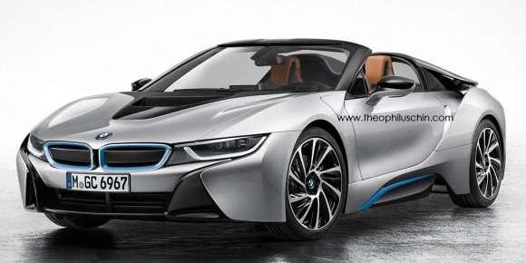 BMW i8 Spyder render