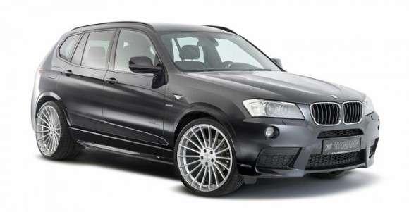 BMW X3 tuning