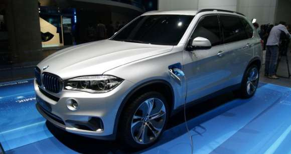 BMW X5 eDrive concept Frankfurt