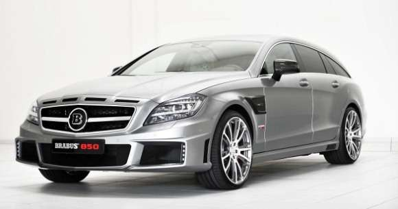 Mercedes CLS Shooting Brake Brabus tuning