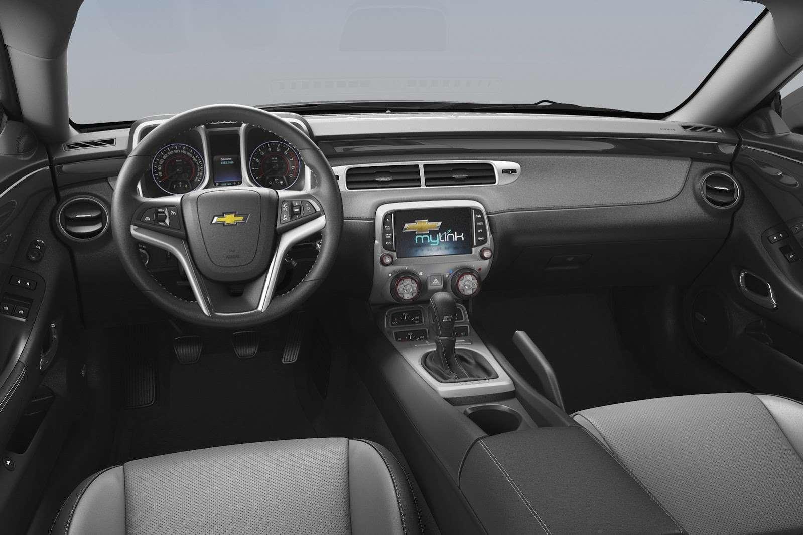 Chevrolet Camaro coupe (MY2014)