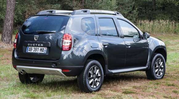 Dacia Duster facelift tył