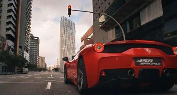 Ferrari 458 Speciale na torze